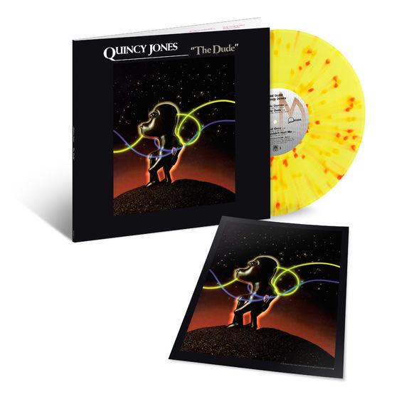 Quincy Jones: The Dude: Exclusive Yellow + Red Splatter Vinyl LP
