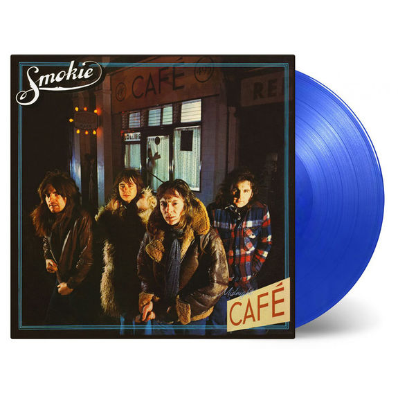 Smokie: Midnight Café Expanded Limited Edition Translucent Blue Vinyl