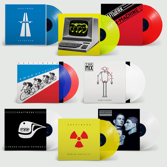 Kraftwerk: The Studio Albums: Limited Edition Colour Vinyl Bundle