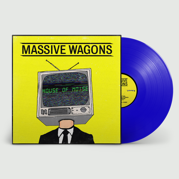 Massive Wagons: House of Noise: Exclusive Blue Vinyl