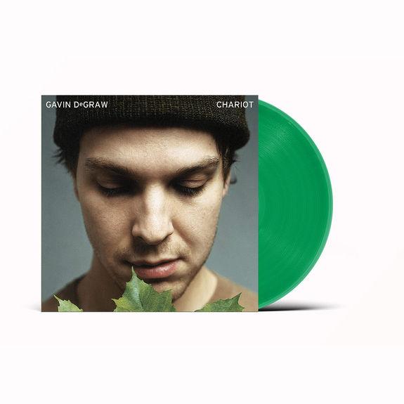 Gavin DeGraw: Chariot: Limited Edition Leafy Sunlight Transparent Green Vinyl