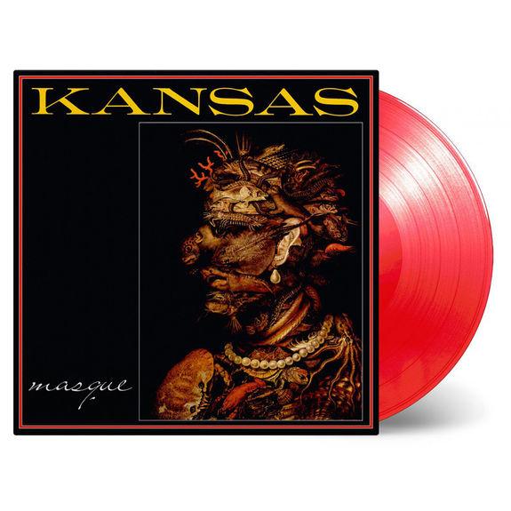 Kansas: Masque: Limited Edition Transparent Red Vinyl