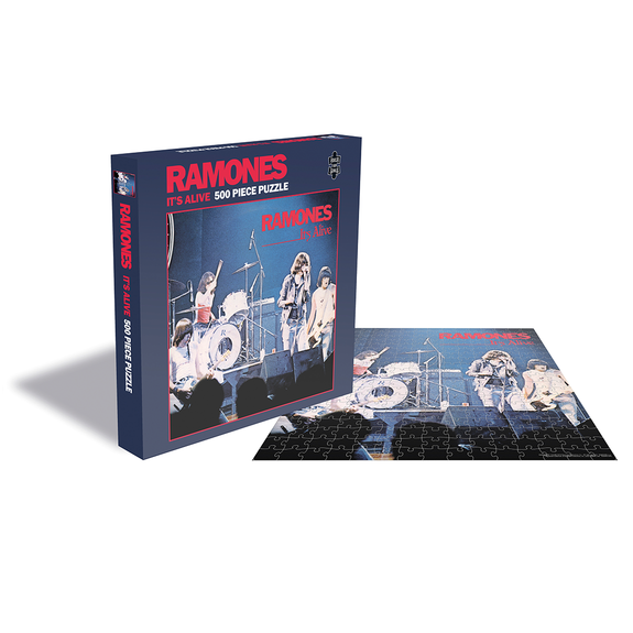 Ramones: It's Alive (500 Piece Jigsaw Puzzle)