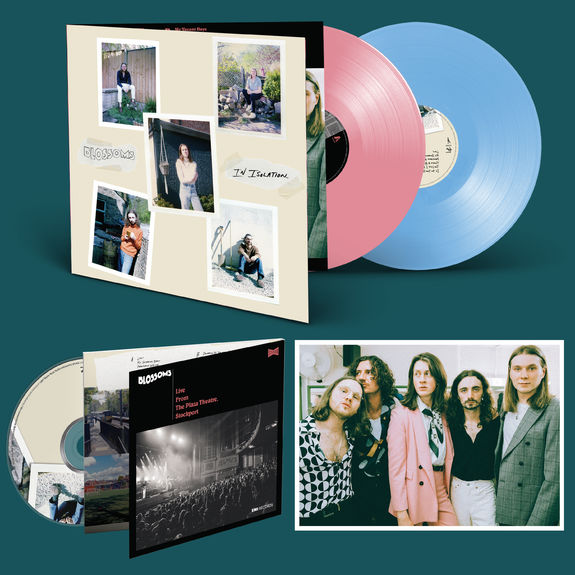 Blossoms: DOUBLE CD (SIGNED), DOUBLE COLOURED LP  & PRINT BUNDLE