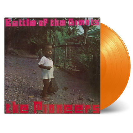 Pioneers: Battle of the Giants: Limited Edition Orange Vinyl