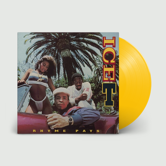 Ice T: Rhyme Pays: Limited Edition Yellow Vinyl