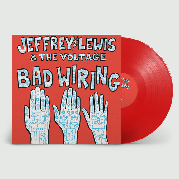 Jeffrey Lewis & The Voltage: Bad Wiring: Limited Edition Poppy Red Vinyl