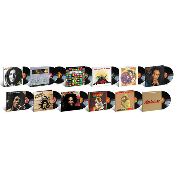 Bob Marley and The Wailers: Bob Marley & The Wailers: Exclusive Tuff Gong Pressing Bundle