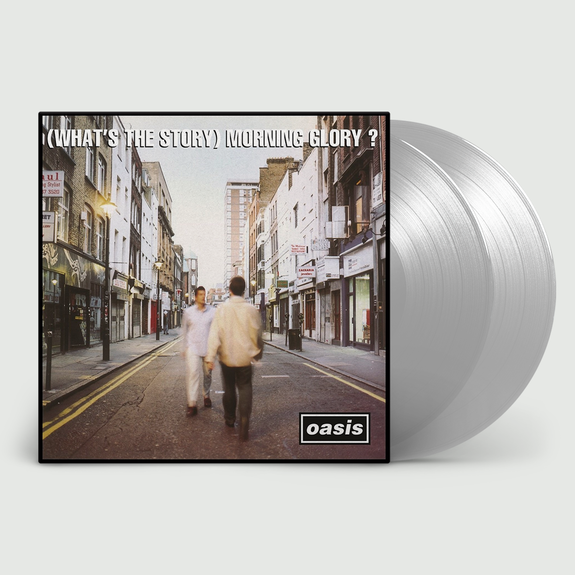 Oasis: (What's The Story) Morning Glory? 25th Anniversary Silver Vinyl