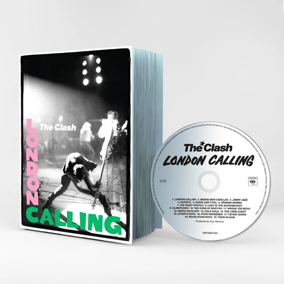 The Clash: London Calling: 40th Anniversary Edition Scrap Book