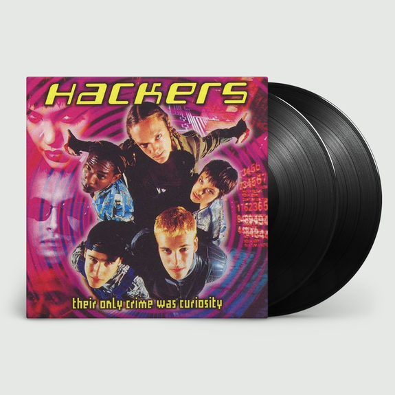 Various Artists: Hackers (OST): Limited Edition Vinyl Signed by Iain Softley