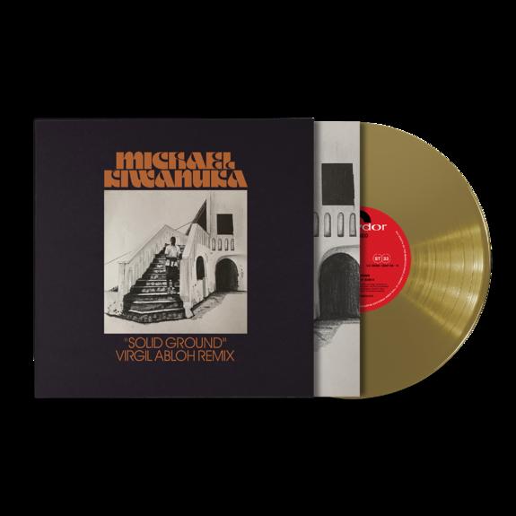 "Michael Kiwanuka: Solid Ground (Virgil Abloh Remix) Single Heavyweight Gold 10"" Vinyl"