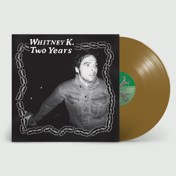 Whitney K: Two Years: recordstore Exclusive Gold Vinyl + Signed Print