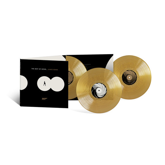Various Artists: The Best Of Bond… James Bond: Exclusive Triple Gold Vinyl