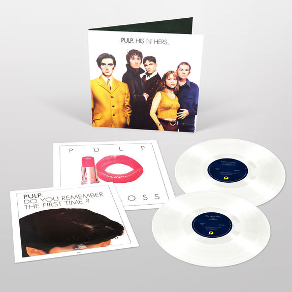 Pulp: His 'N' Hers: Exclusive 25th Anniversary Edition White Vinyl