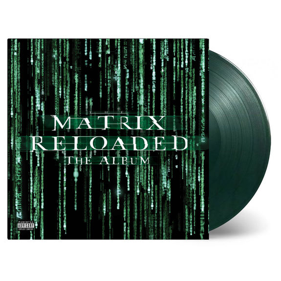 Original Soundtrack: The Matrix Reloaded: Limited Edition Transparent Green Vinyl