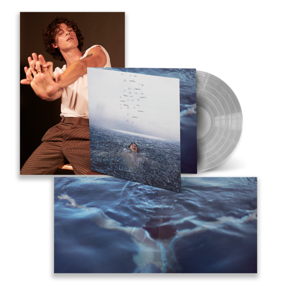Shawn Mendes: WONDER LIMITED CLEAR VINYL W/ FOLDOUT POSTER