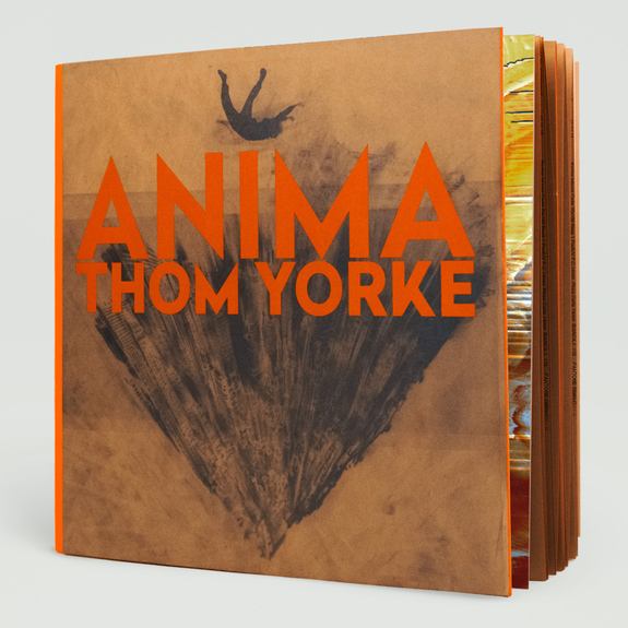 Thom Yorke: ANIMA: Deluxe Edition Hardback Book + Double Orange Vinyl 2LP