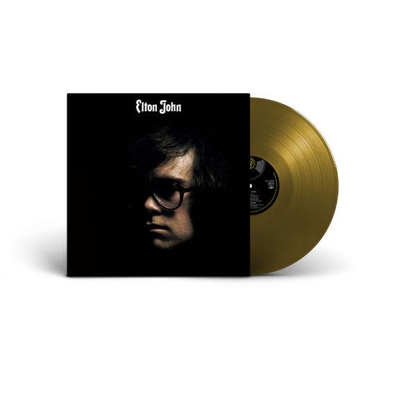 Elton John: Elton John: 50th Anniversary Edition Gold Vinyl