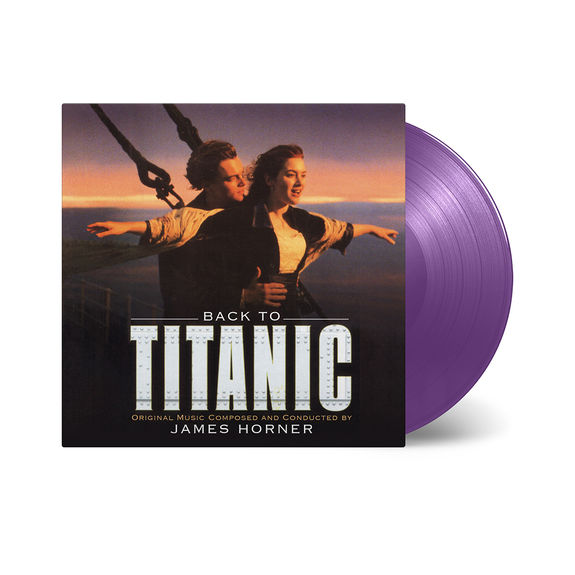 Original Soundtrack: Back To Titanic: Limited Edition Purple Double Vinyl