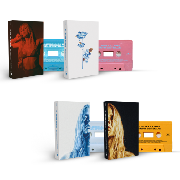 Ellie Goulding: Brightest Blue Tape Deck + Signed Artcard