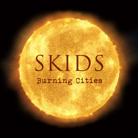 skids: Burning Cities Red Vinyl: Signed