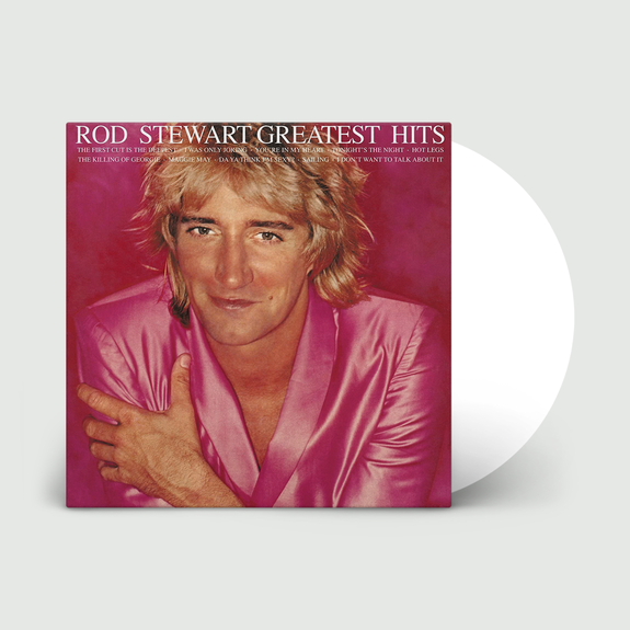 Rod Stewart: Greatest Hits: Limited Edition White Vinyl