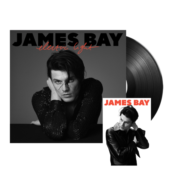 james bay: Electric Light Standard LP + Signed Postcard