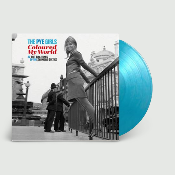 Various Artists: The Pye Girls My World; (32 Brit Girl Tunes Of The Swinging Sixties): Limited Edition Crystal Water Vinyl