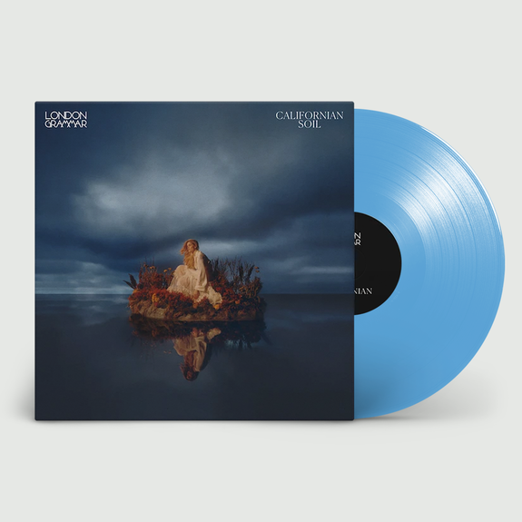 London Grammar: Californian Soil: Limited Edition Transparent Blue Vinyl
