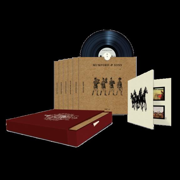 """Mumford & Sons : Sigh No More Limited Edition 7"""" Boxset"""