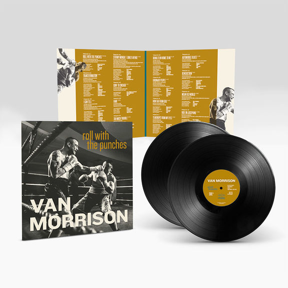 """Van Morrison: Roll With The Punches 12"""" Vinyl"""