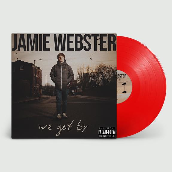 Jamie Webster: We Get By: Signed Limited Edition Red Vinyl