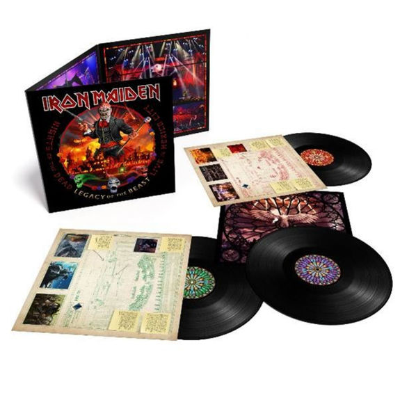 Iron Maiden: Nights of the Dead, Legacy of the Beast: Live in Mexico City: Deluxe Triple Vinyl