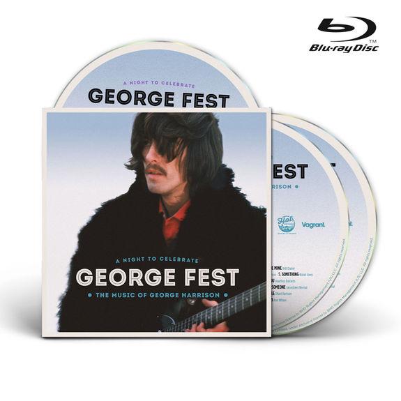 George Harrison: George Fest 2CD & Blu-ray
