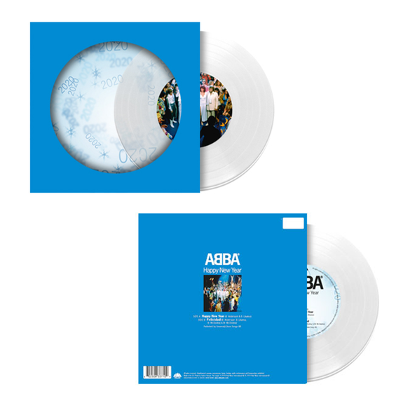 Abba: Happy New Year: Collector's Edition Clear Vinyl