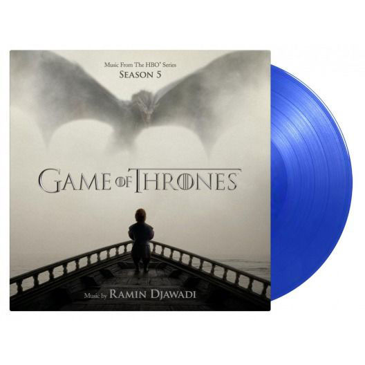 Original Soundtrack: Game Of Thrones Season 5 (Blue Tour Edition): Limited Edition Blue Vinyl