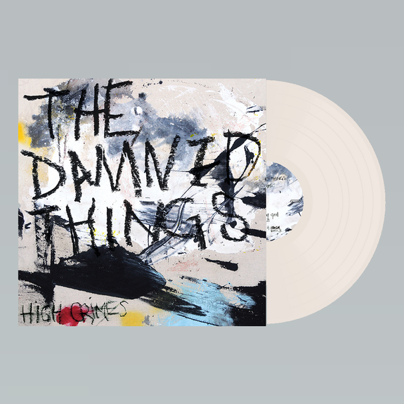 The Damned Things: High Crimes: Limited Edition Bone Coloured Vinyl
