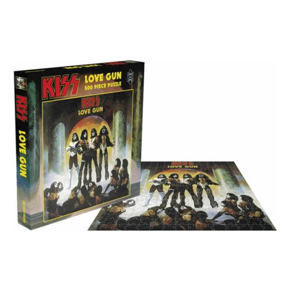 Kiss: Love Gun: 500 Piece Jigsaw Puzzle