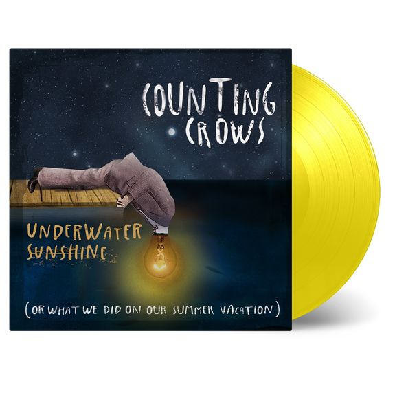 Counting Crows: Underwater Sunshine (Or What We Did On Our Summer Vacation): Numbered Yellow Vinyl