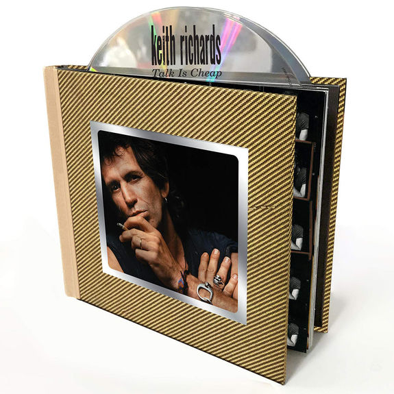 Keith Richards: Talk Is Cheap: Deluxe Edition Media Book