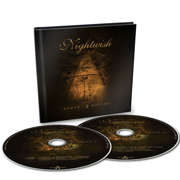 Nightwish: Human:II:Nature: Limited Edition 2CD Digibook