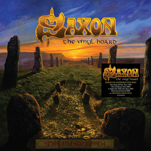 Saxon: The Vinyl Hoard