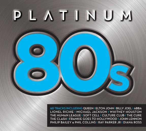 Various Artists: Platinum 80s CD