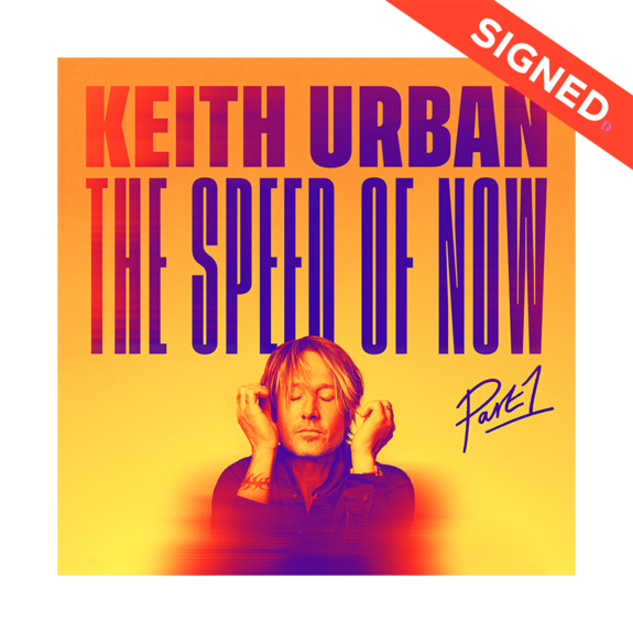 Keith Urban: The Speed Of Now Part 1 Signed Art Card