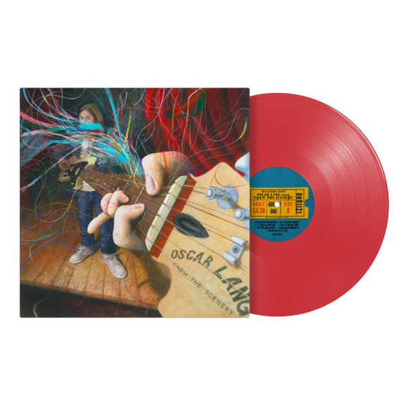 Oscar Lang: Chew The Scenery: Signed Poppy Red Vinyl