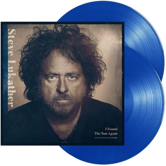 Steve Lukather: I Found The Sun Again: Blue Transparent Vinyl