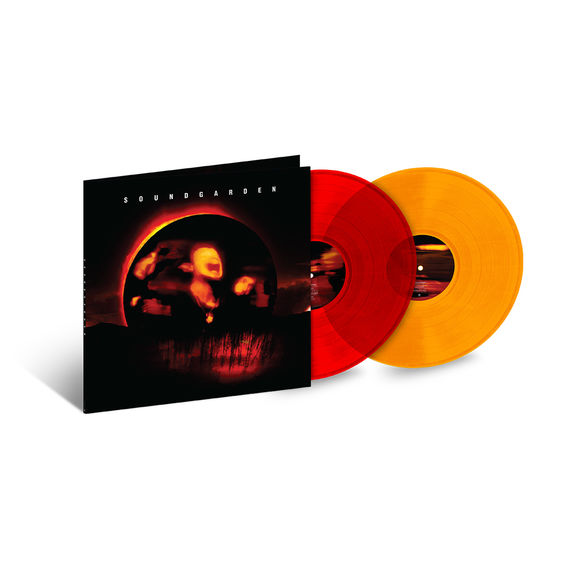Soundgarden: Superunknown: Exclusive Transparent Red and Orange Vinyl