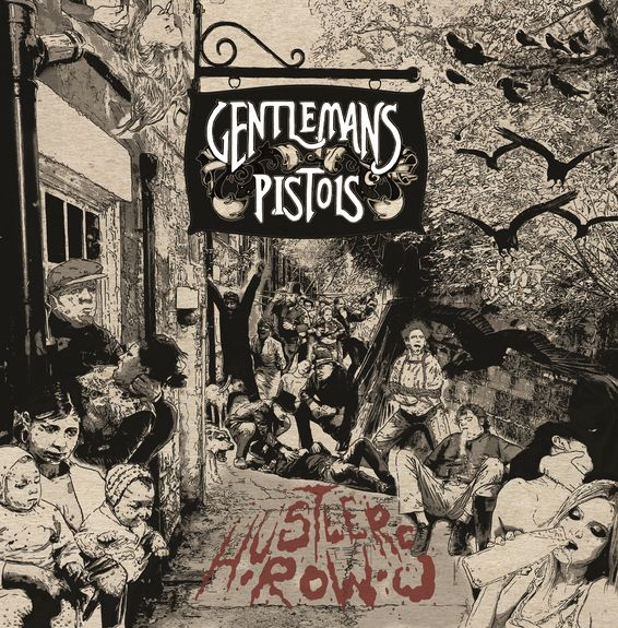 Gentlemans Pistols: Hustler's Row: Limited Edition Gatefold Vinyl