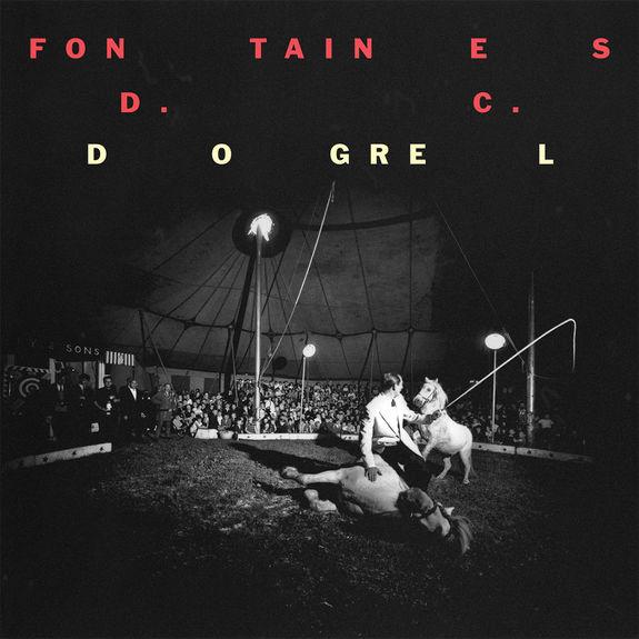Fontaines D.C.: Dogrel: Black Vinyl